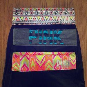 Victoria Secret Yoga Pants, Bootcut, 3 Pairs, XS